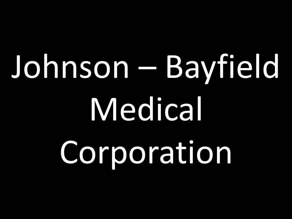 Johnson – Bayfield Medical Corporation