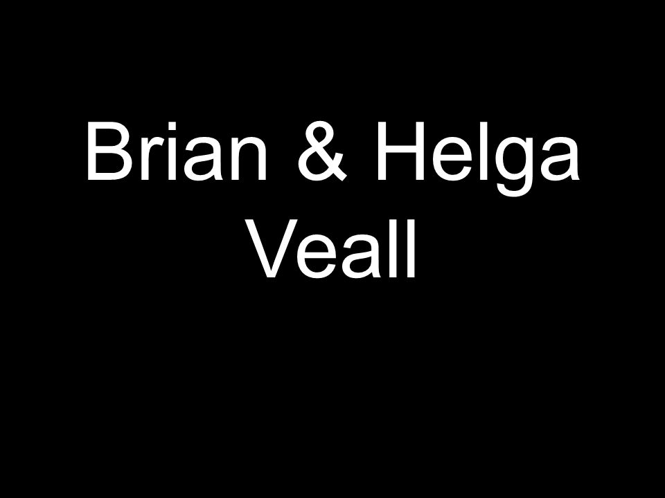 Brian & Helga Veall