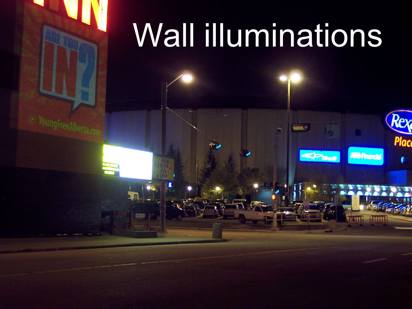 Wall illuminations