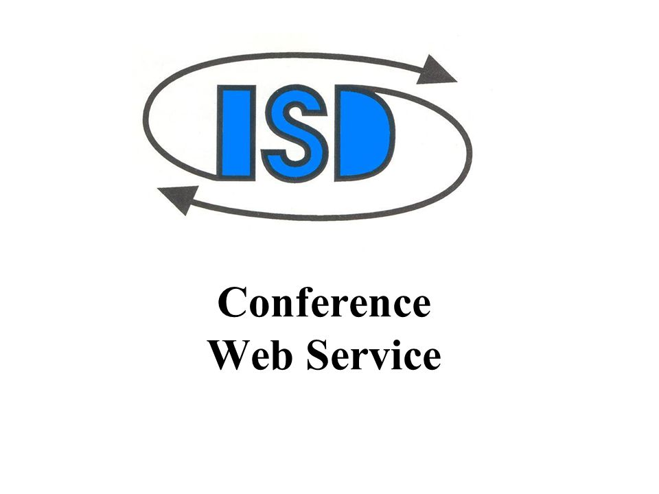 Conference Web Service