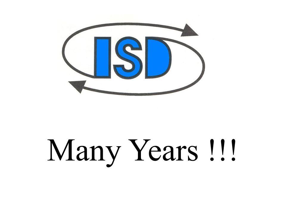 Many Years !!!