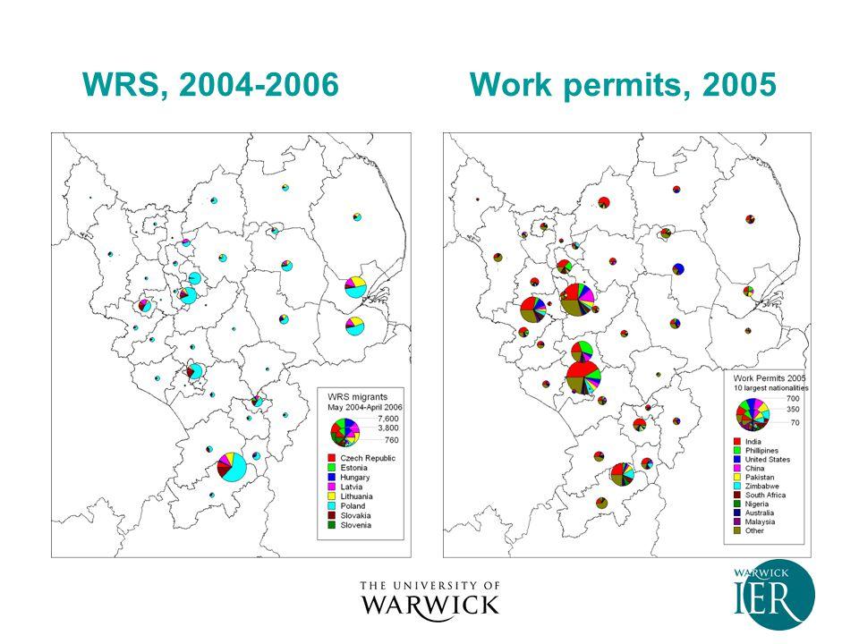 WRS, 2004-2006 Work permits, 2005