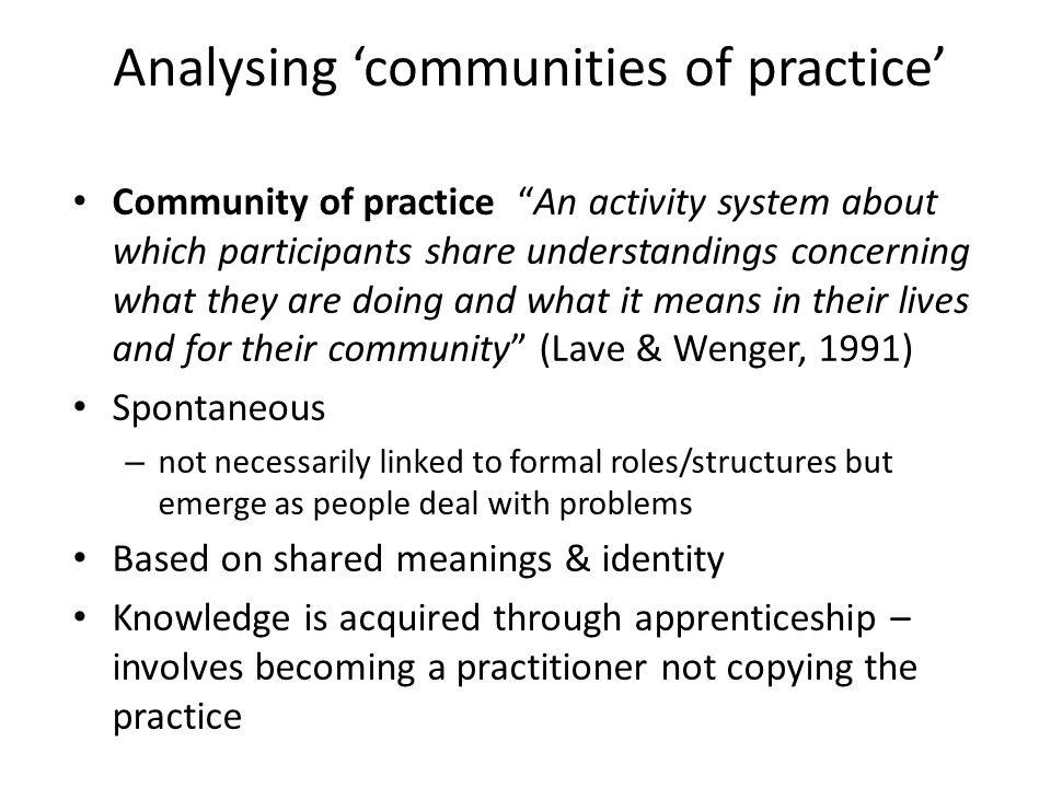 Skateboarding as a community of practice + +