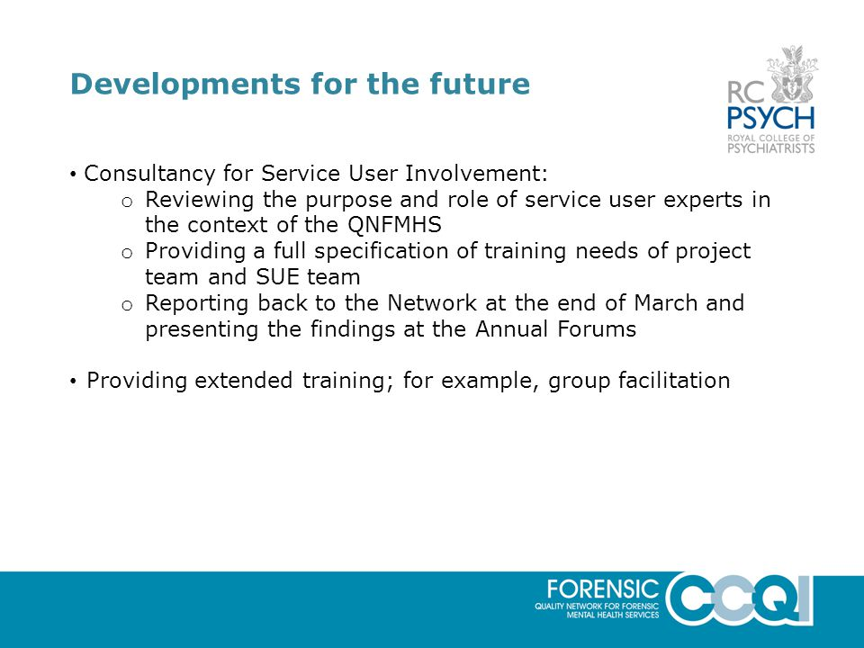 How can we involve service users at member services?