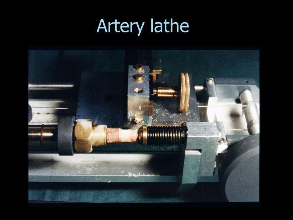 Artery lathe