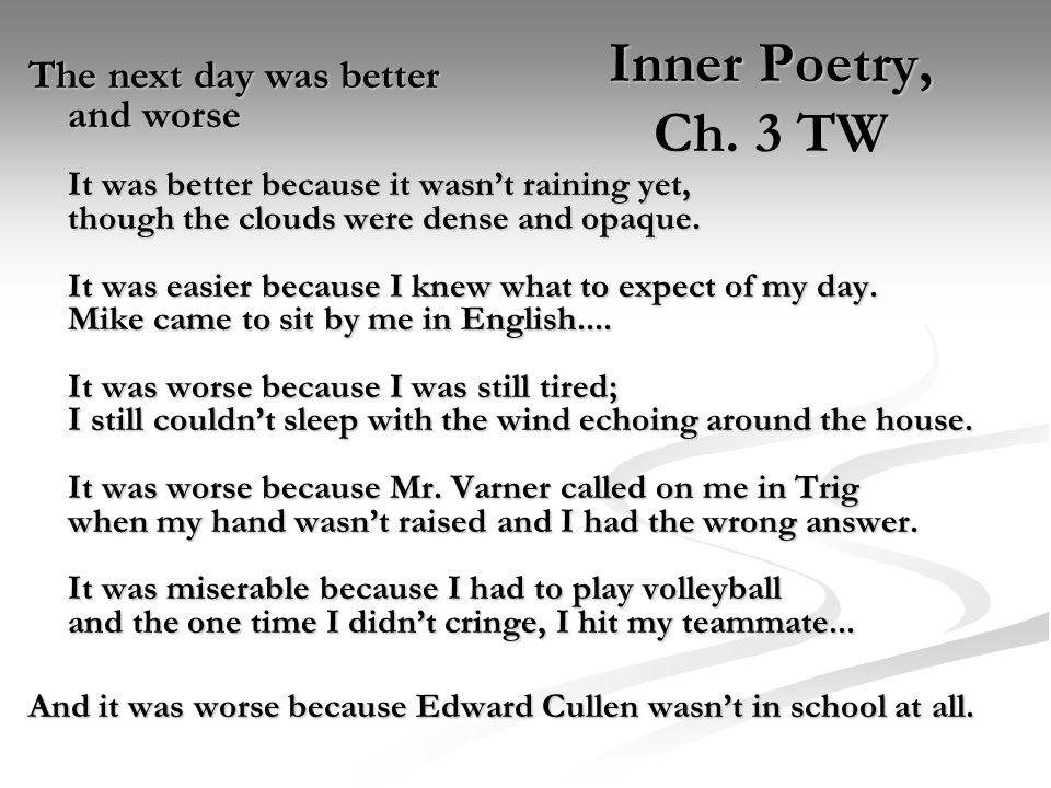 Inner Poetry, Ch.