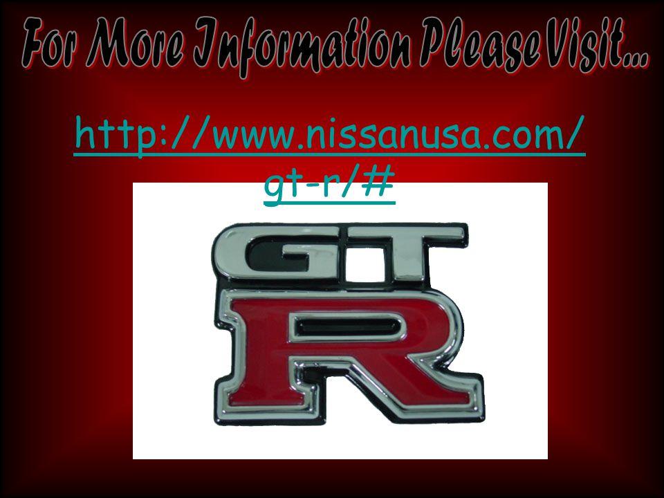 http://www.nissanusa.com/ gt-r/#