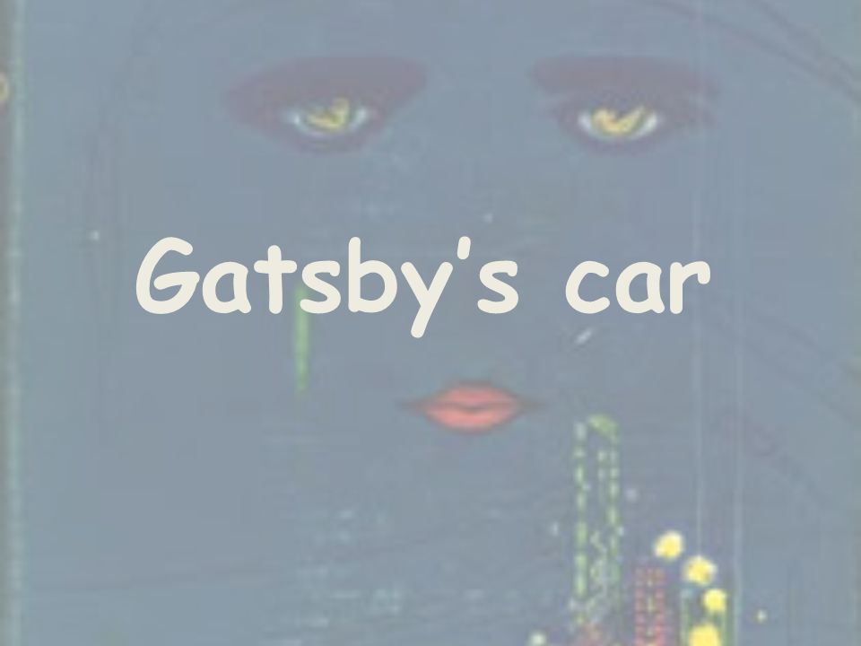 Gatsby's car