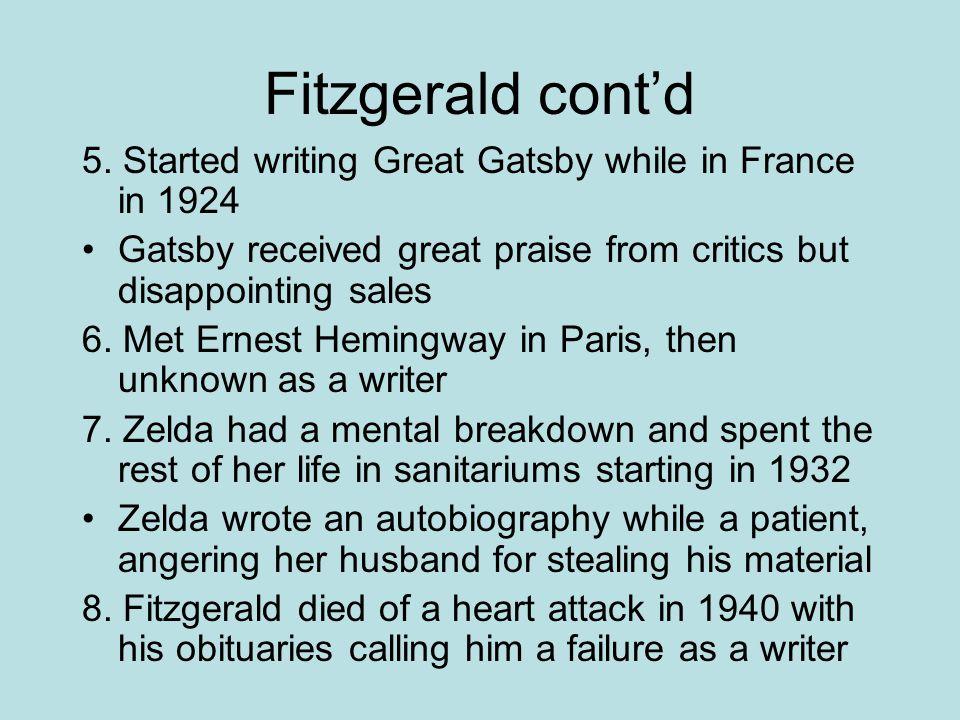 Fitzgerald cont'd 5.