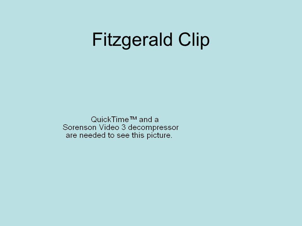 Fitzgerald Clip