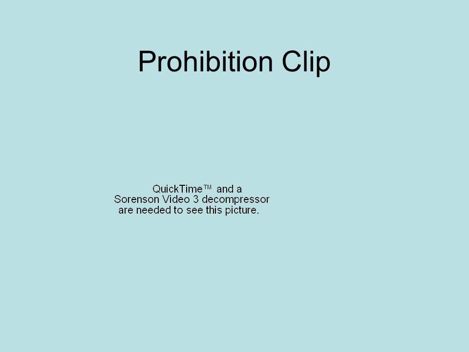 Prohibition Clip