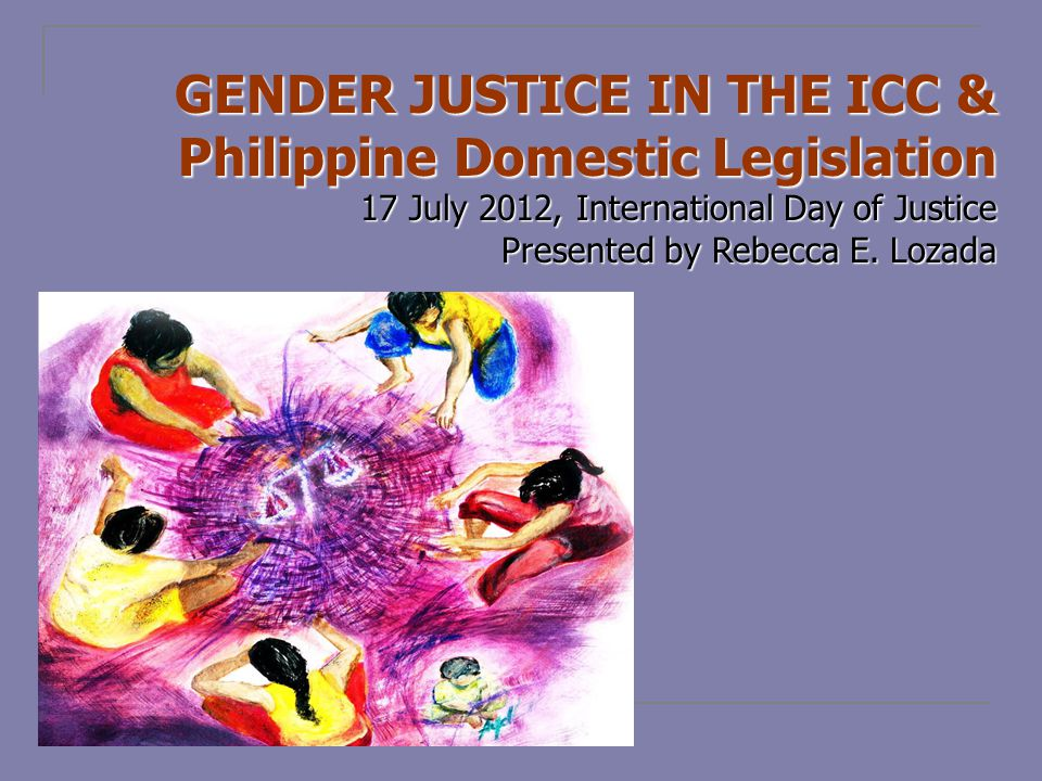 - Declares that The State values the dignity of every human person and guarantees full respect for human rights, including the rights of indigenous cultural communities and other vulnerable groups, such as women and children; & the State shall ensure that the legal systems in place provide accessible and gender- sensitive avenues of redress for victims of armed conflict. - Expresses applicability of international law, including of specific international treaties.