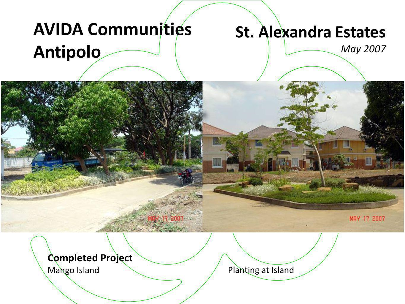 AVIDA Residences San Isidro Completed Project (Phase 1) May 2007