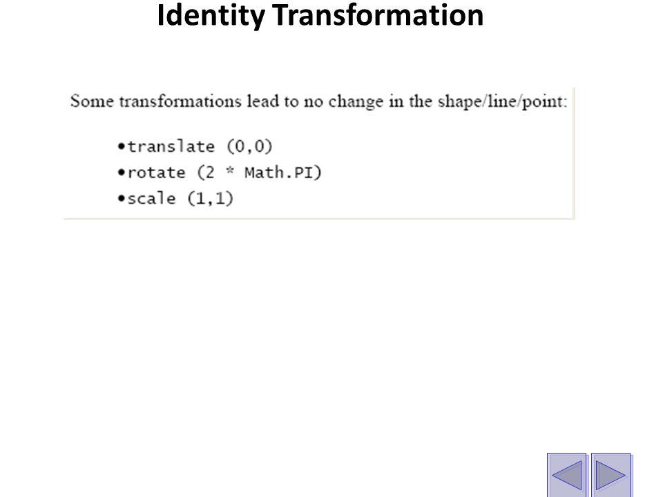 Identity Transformation