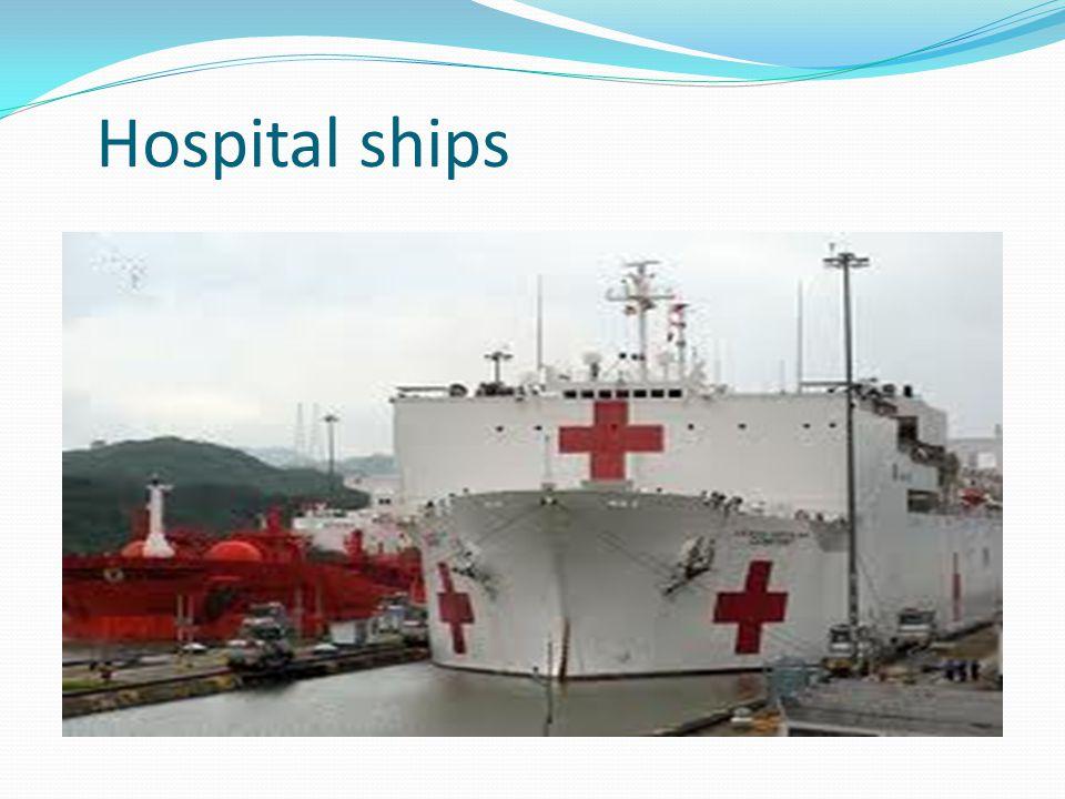 Hospital ships