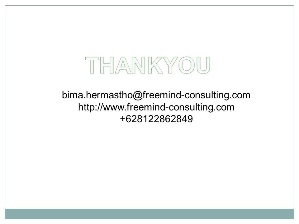 bima.hermastho@freemind-consulting.com http://www.freemind-consulting.com +628122862849