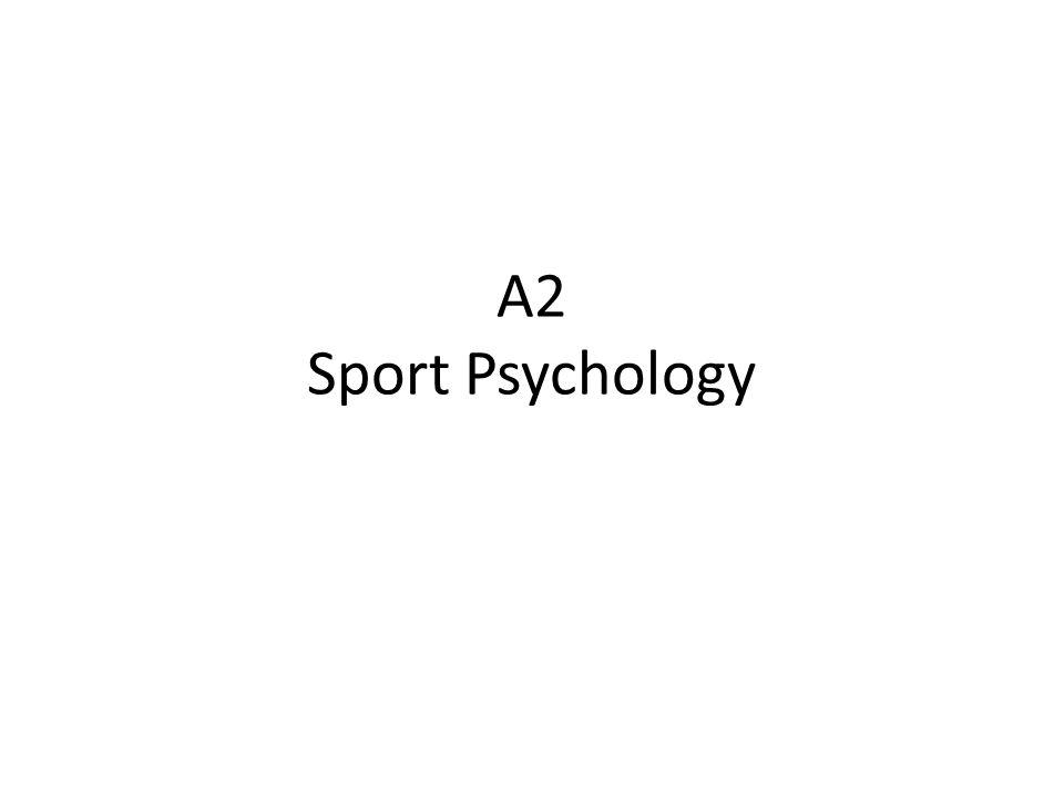 A2 Sport Psychology