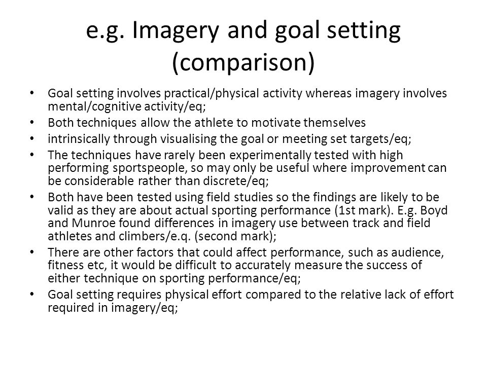 Boyd and Munroe (2003) Imagery and climbing study.