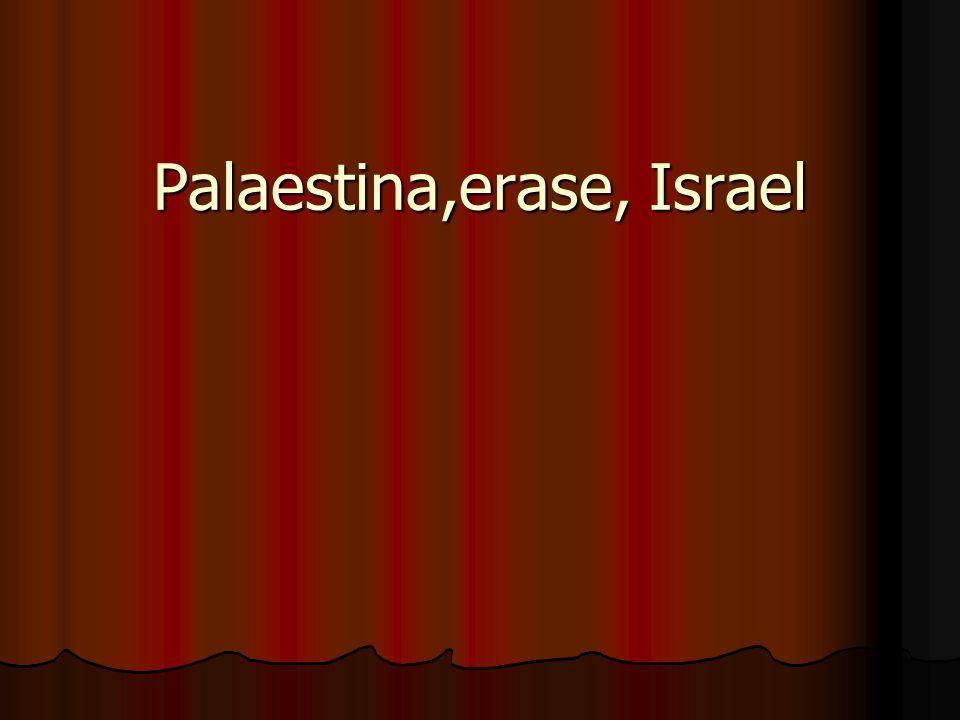 Palaestina,erase, Israel