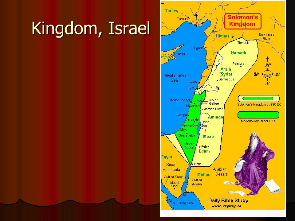 Kingdom, Israel