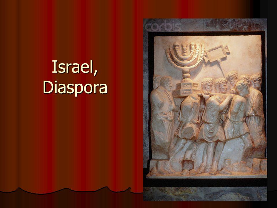 Israel, Diaspora
