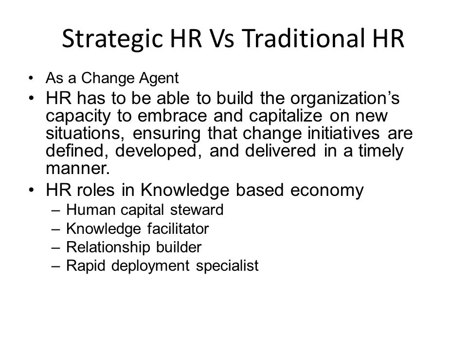 Human capital steward It involves the creation of an environment and culture in which employees voluntarily want to contribute their skills, ideas, and energy A competitive advantage can be taken only when the best employees are recruited, duly motivated, and retained.