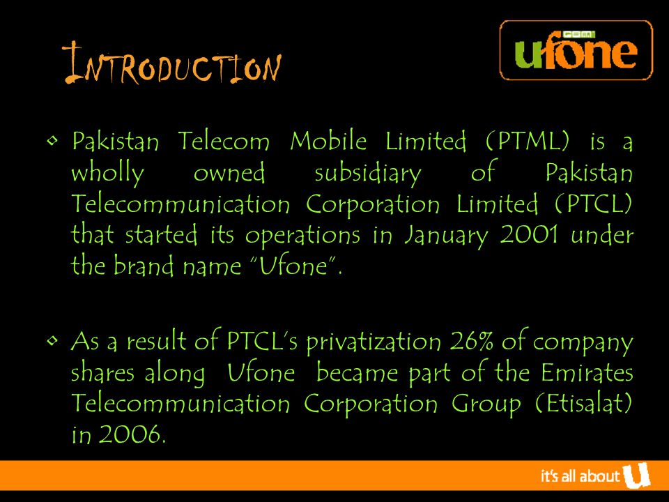 R ecruitment & S election Qualified professionals from outside have been hired Many benefits are provided but Employee Retention is quite low due to heavy Burdon of their job Low Flexibility In Performance That's why ufone HR department is continually engage in recruitment & slection Procedure
