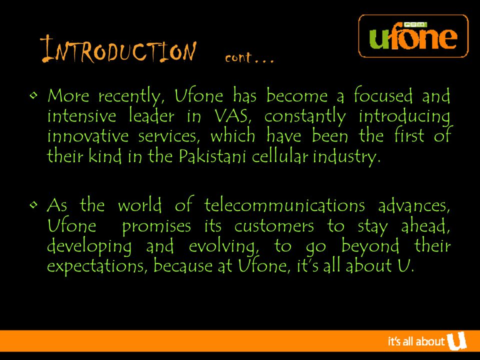 PERFORMANCE APPRAISAL Appraisal Method: Management by Objective (MBO) Ufone philosophy Impact is no longer about counting heads; it's about making each Head count