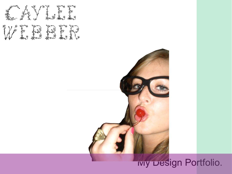 My Design Portfolio.