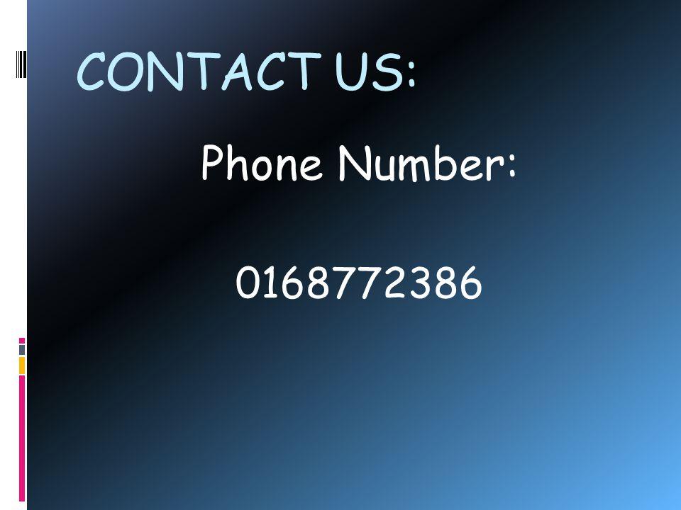 CONTACT US: E-mail Address: www.llaser.com.my
