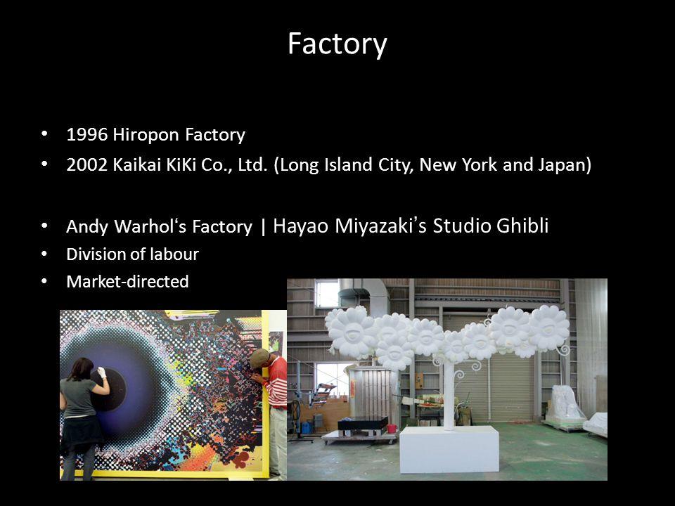 Factory 1996 Hiropon Factory 2002 Kaikai KiKi Co., Ltd.