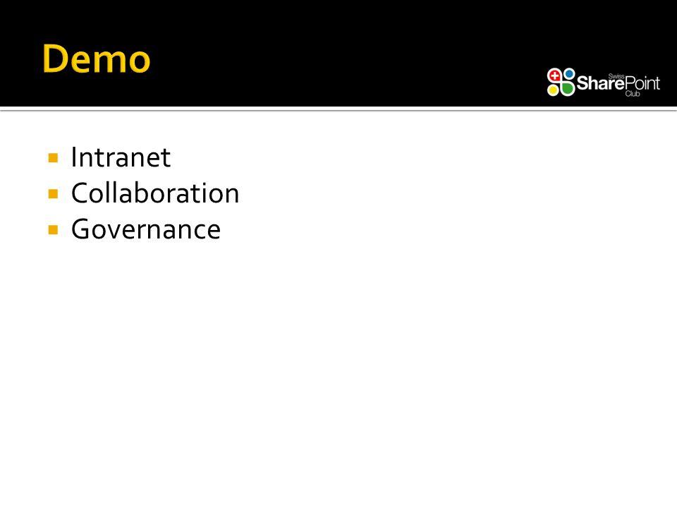  Intranet  Collaboration  Governance