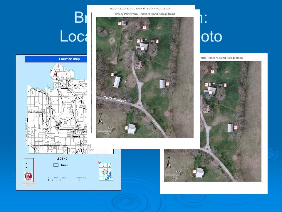Breezy Point Farm: Location & Aerial Photo