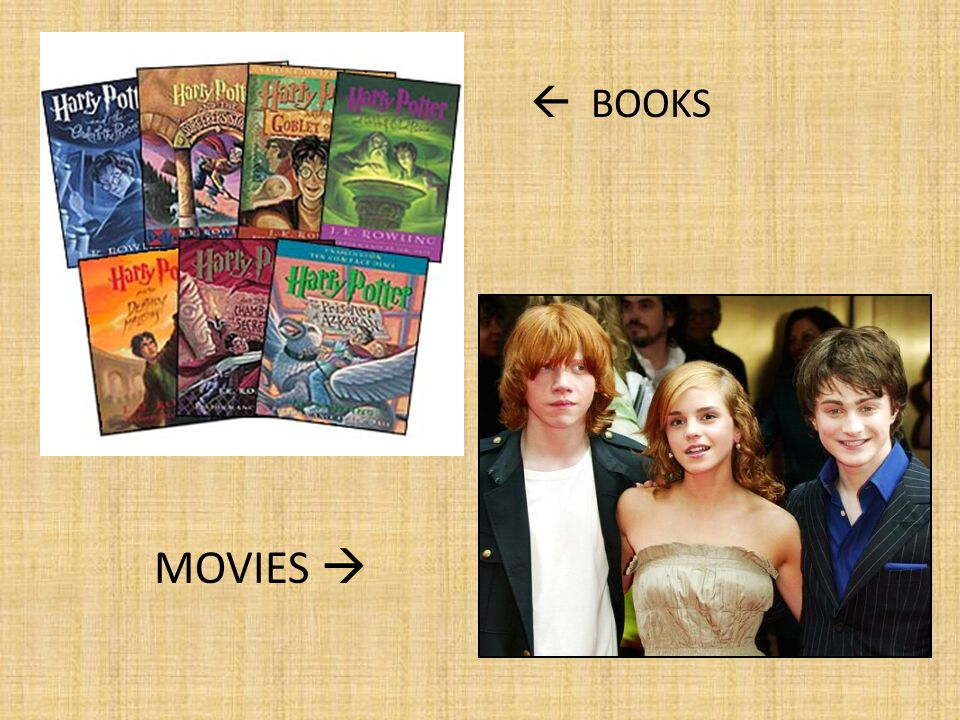  BOOKS MOVIES 