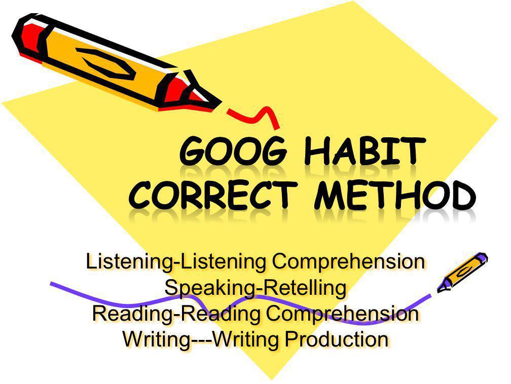 Listening-Listening Comprehension Speaking-Retelling Reading-Reading Comprehension Writing---Writing Production