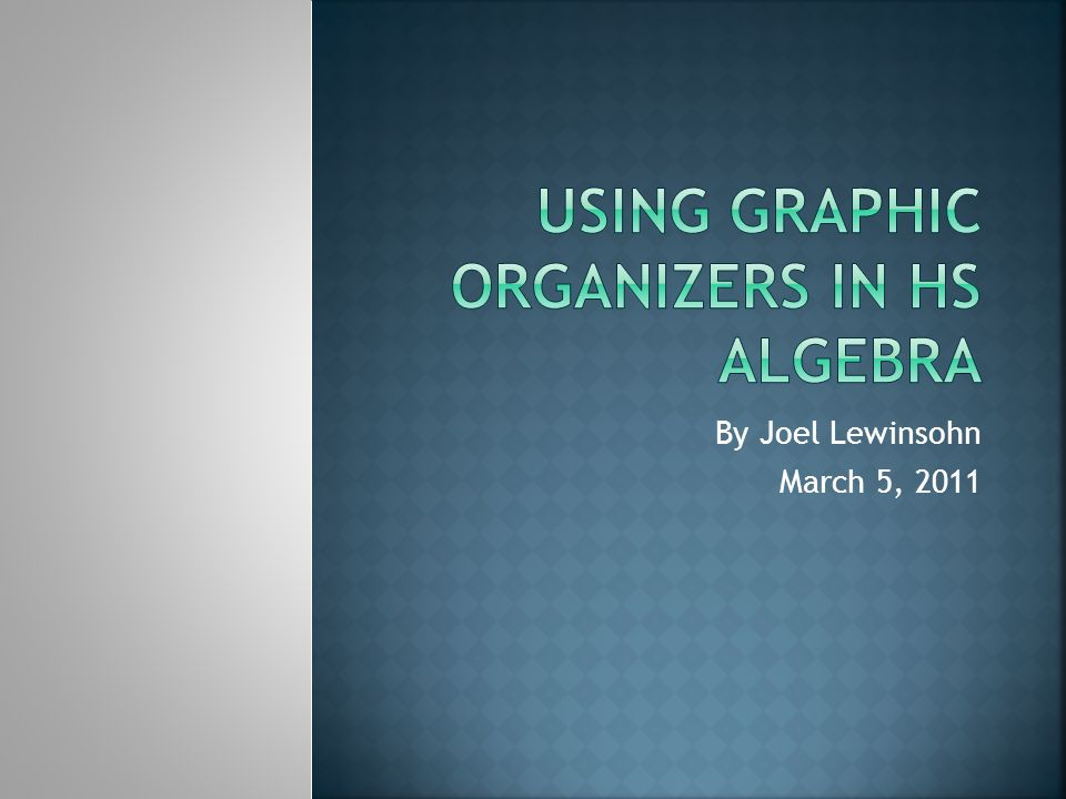  Graphic organizers are a great strategy for building thinking skills due to their organizational manner.