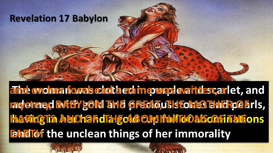 Jeremiah 51 - Babylon has been a golden cup in the hand of the LORD, Intoxicating all the earth.