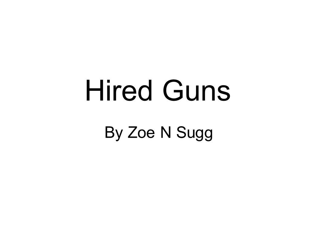 By Zoe N Sugg Hired Guns