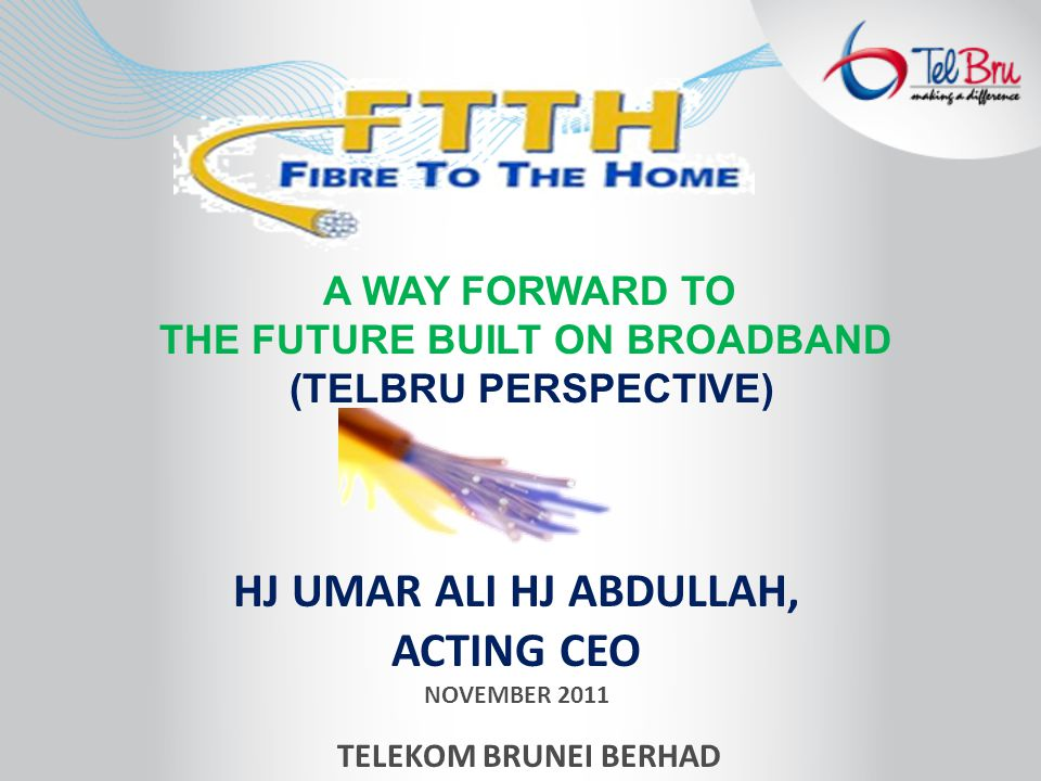 The sole fixed-line telecommunication provider in Brunei Darussalam The leading service provider for Internet and Fixed Broadband services Also a leading service provider for leased lines and data services Owns 50% of B-mobile, the first third-generation or 3G cellular phone operator in Brunei Darussalam.