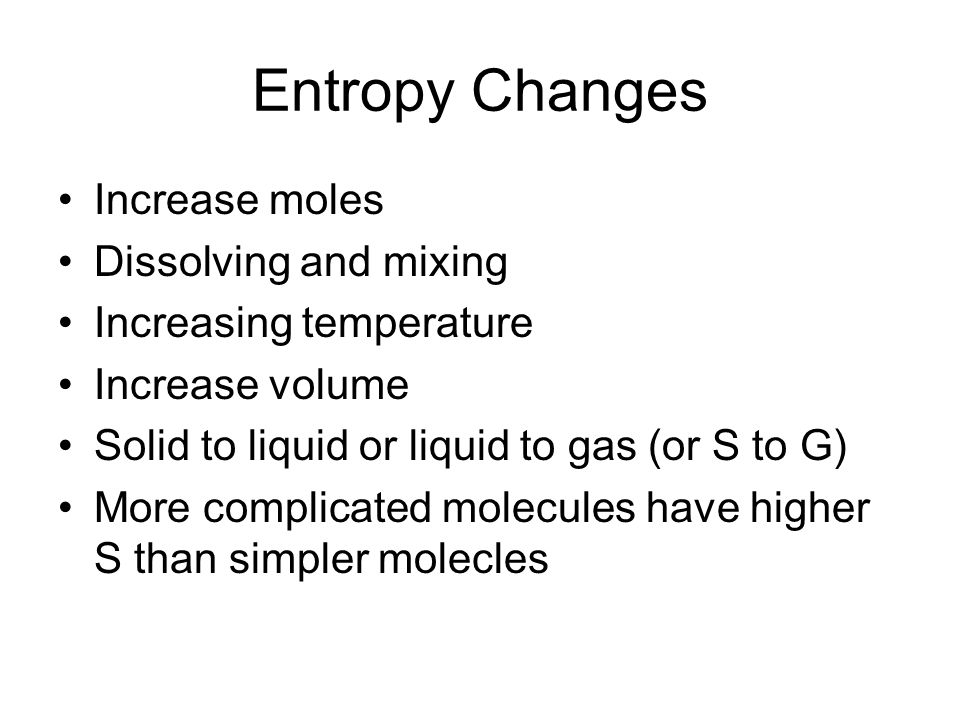 Total Entropy System vs.Surroundings vs.