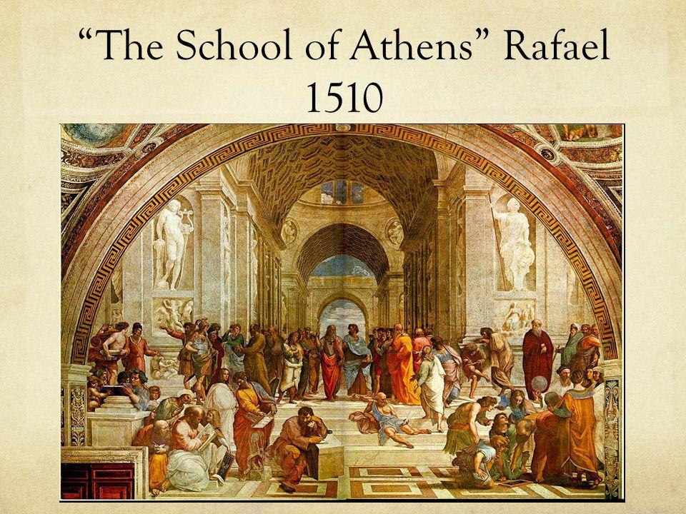 """The School of Athens"" Rafael 1510"