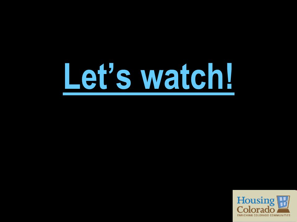 Let's watch!