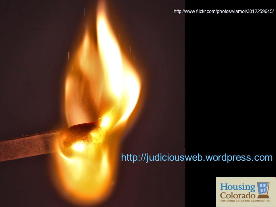 http://www.flickr.com/photos/viamoi/3012259645/ http://judiciousweb.wordpress.com