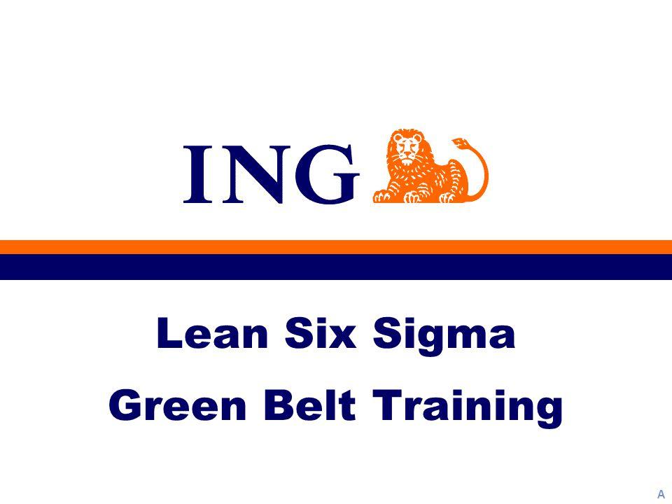 A Lean Six Sigma Green Belt Training
