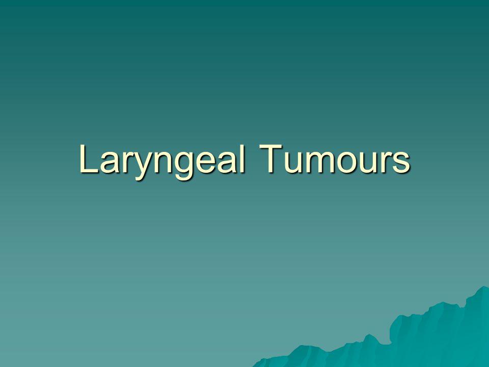 Laryngeal Tumours