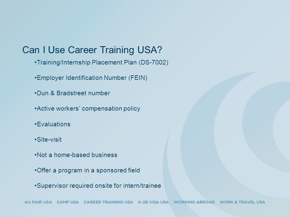 Can I Use Career Training USA.
