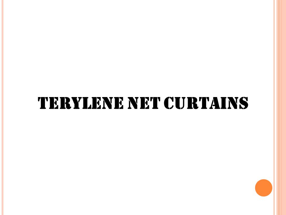 Terylene Net Curtains