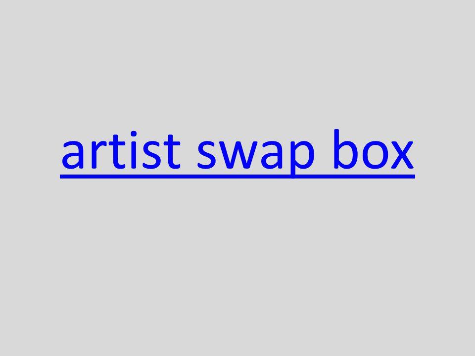 artist swap box