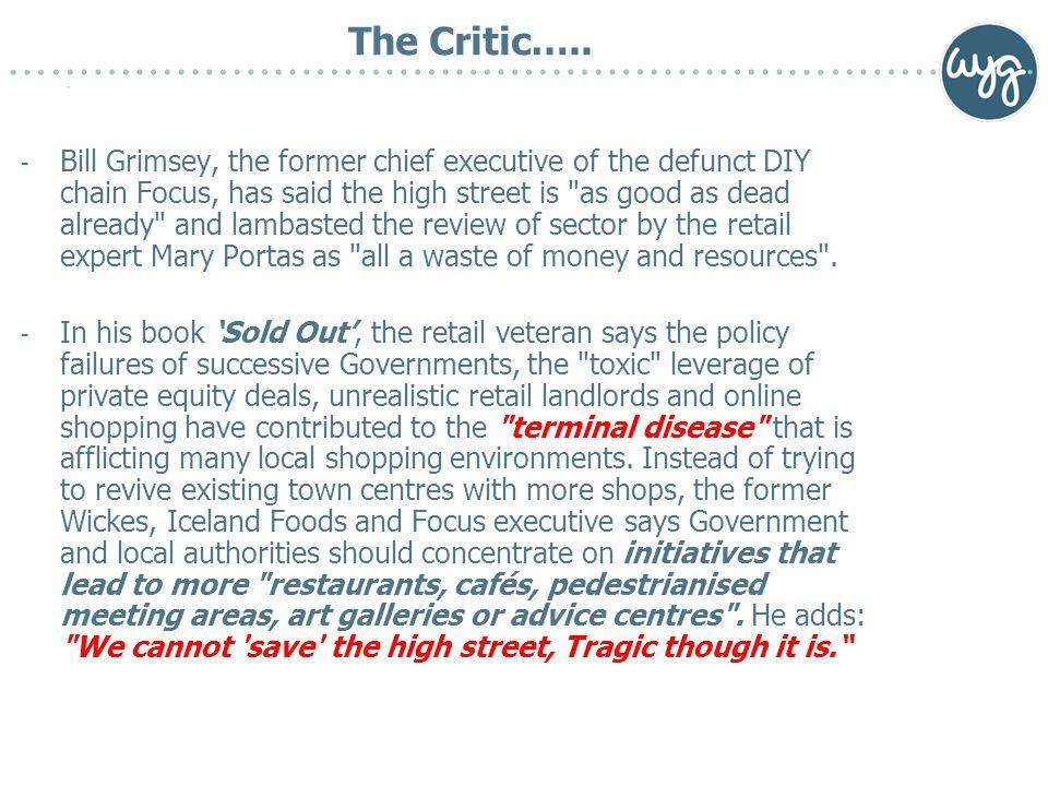 The Critic…..