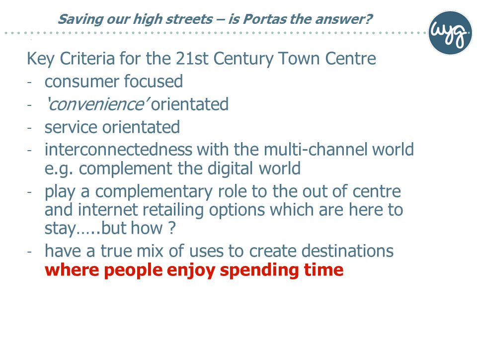 Saving our high streets – is Portas the answer.